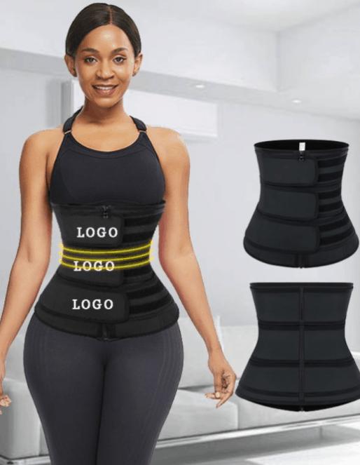 Three Belts Latex Waist Trainer
